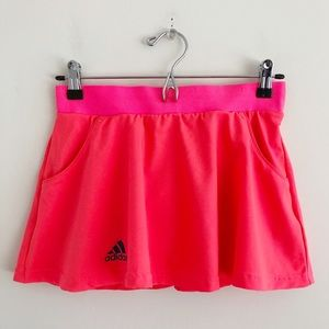 Adidas Club Bright Pink Tennis Skirt Size XS